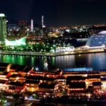 A night view of 10 million dollars, Kobe