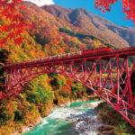 The Torokko Train of Kurobe Gorge, Toyama
