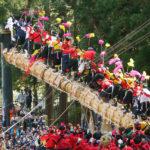 Onbashira Matsuri (Onbashira Festival), Nagano