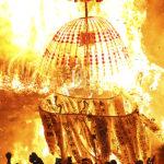 Dosojin Fire Festival, Nagano
