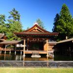 Misogi-jinja Nogaku-den (Misogi Shrine Noh theater), Yamanashi