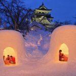 Snow Hut of Yokote, Akita
