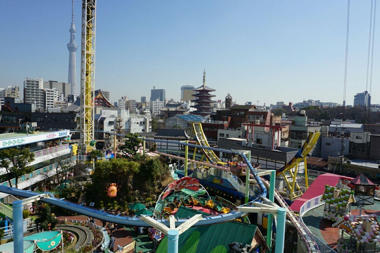 Hanayashiki Amusement Park, Tokyo