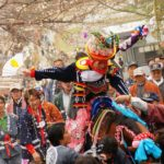 Inabe Shrine Ageuma Shinji (Shinto ritual of leading a horse), Mie